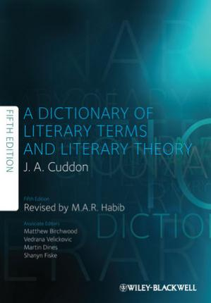 Buchdeckel A Dictionary of Literary Terms and Literary Theory, Fifth Edition