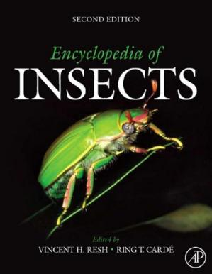 غلاف الكتاب Encyclopedia of Insects, Second Edition