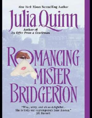 Book cover Romancing Mister Bridgerton