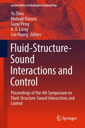 Обложка книги Fluid-Structure-Sound Interactions and Control