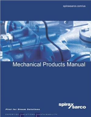 Book cover Mechanical products Manual. 2012