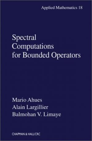 表紙 Spectral computations for bounded operators