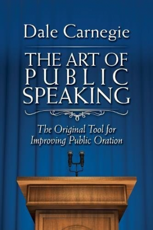 పుస్తక అట్ట The Art of Public Speaking: The Original Tool for Improving Public Oration