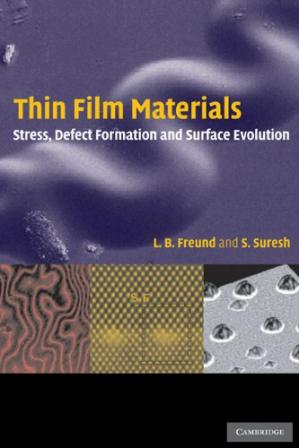 Copertina Thin film materials: stress, defect formation and surface evolution