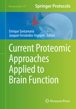 Обкладинка книги Current Proteomic Approaches Applied to Brain Function