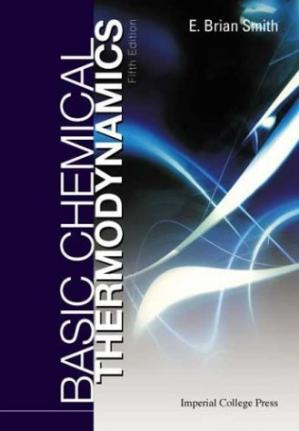 Book cover Basic Chemical Thermodynamics (Fifth Edition)