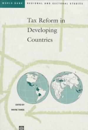 Copertina Tax reform in developing countries, Volume 235