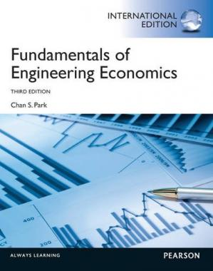 Book cover Fundamentals of Engineering Economics. Chan S. Park