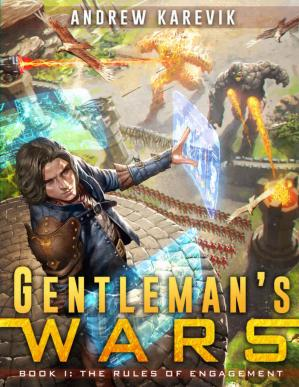 Book cover Gentleman's Wars: A Tower Defense LitRPG Series (The Great Game Book 1)