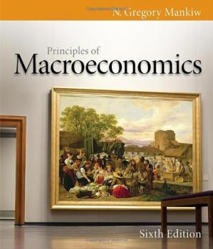 Portada del libro Principles of Macroeconomics , Sixth Edition