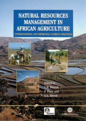 పుస్తక అట్ట Natural resources management in African agriculture: understanding and improving current practices