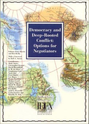 Buchdeckel Democracy and Deep-Rooted Conflict: Options for Negotiators