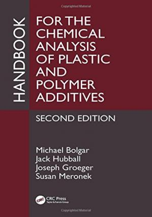 Couverture du livre Handbook for the Chemical Analysis of Plastic and Polymer Additives