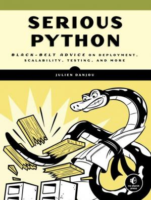 Book cover Serious Python