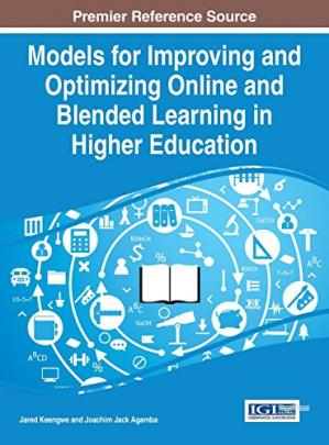 Book cover Models for Improving and Optimizing Online and Blended Learning in Higher Education