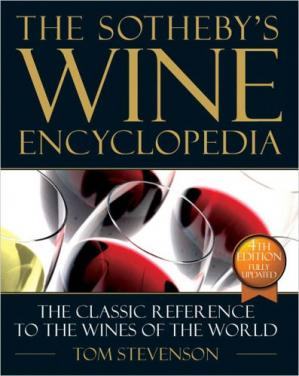 A capa do livro The New Sotheby's Wine Encyclopedia