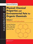 A capa do livro Handbook of physical-chemical properties and environmental fate for organic chemicals. Vol. 1, Introduction and hydrocarbons