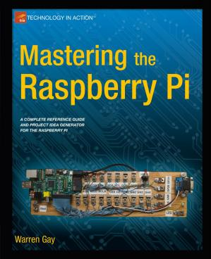 Book cover Mastering the Raspberry Pi