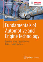 Book cover Fundamentals of Automotive and Engine Technology: Standard Drives, Hybrid Drives, Brakes, Safety Systems