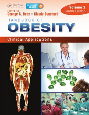 पुस्तक कवर Handbook of Obesity – Volume 2: Clinical Applications, Fourth Edition