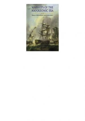 A capa do livro Warships of the Napoleonic Era - Design, Development and Deployment