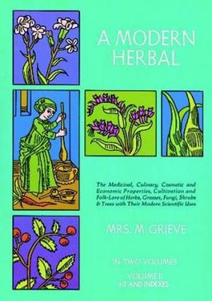 ปกหนังสือ A Modern Herbal. Vol. 2: I-Z and Indexes