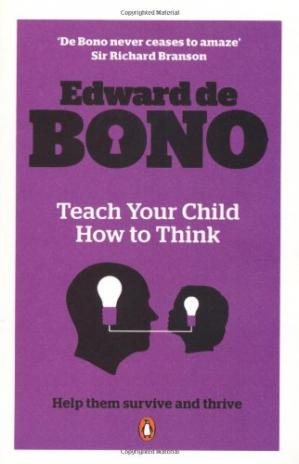 წიგნის ყდა Teach Your Child How to Think.