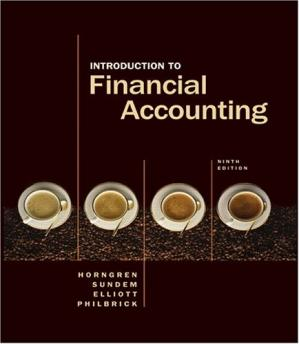 Book cover Introduction to Financial Accounting