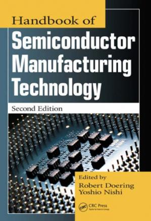 Εξώφυλλο βιβλίου Handbook of Semiconductor Manufacturing Technology