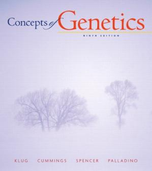 Book cover Concepts of genetics, 9th Edition