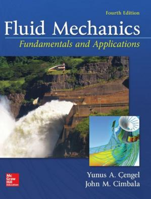 Book cover Fluid Mechanics Fundamentals and Applications