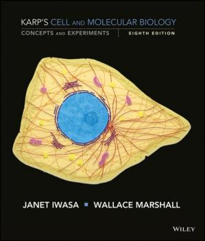 Book cover Karp's Cell and Molecular Biology. Concepts and Experiments
