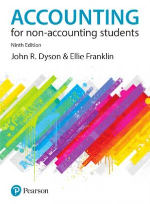 Book cover Accounting for non-accounting students