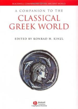 غلاف الكتاب A Companion to the Classical Greek World