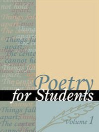 Обложка книги Poetry for Students: Presenting Analysis, Context and Criticism on Commonly Studied Poetry, vol. 4