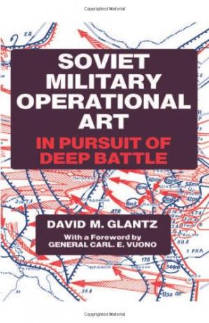 Book cover Soviet Military Operational Art: In Pursuit of Deep Battle