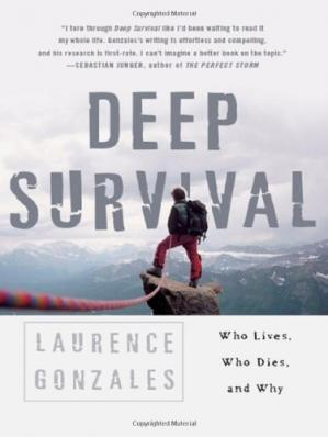 Book cover Deep Survival: Who Lives, Who Dies, and Why