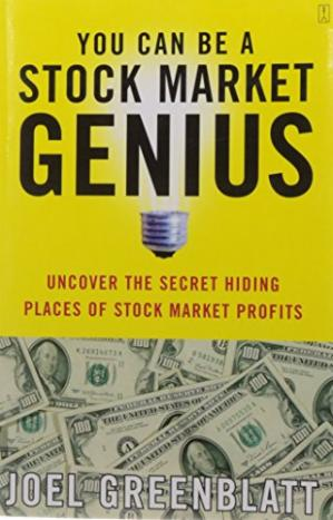 Book cover You Can Be a Stock Market Genius: Uncover the Secret Hiding Places of Stock Market Profits