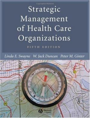 Portada del libro Strategic Management of Health Care Organizations (5th Edition)