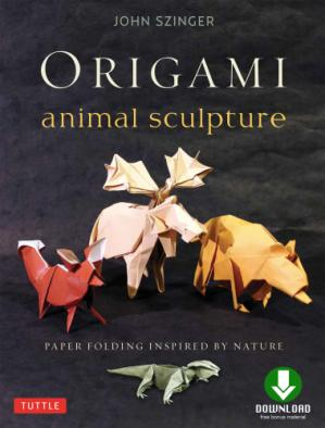 Book cover Origami Animal Sculpture: Paper Folding Inspired by Nature
