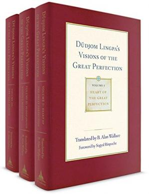 Buchdeckel Dudjom Lingpa's Visions of the Great Perfection
