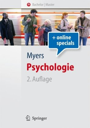 Portada del libro Psychologie (Springer-Lehrbuch) (German Edition)