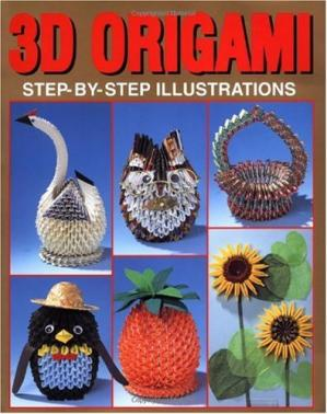 Book cover 3D ORIGAMI STEP-BY-STEP ILLUSTRATIONS