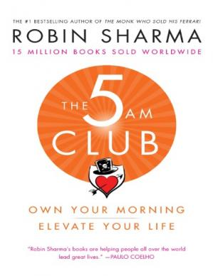 Book cover The 5AM Club