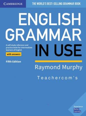 A capa do livro English Grammar in Use Book with Answers and Interactive eBook: A Self-study Reference and Practice Book for Intermediate Learners of English