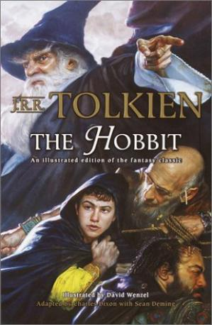 Copertina The Hobbit (Comic)