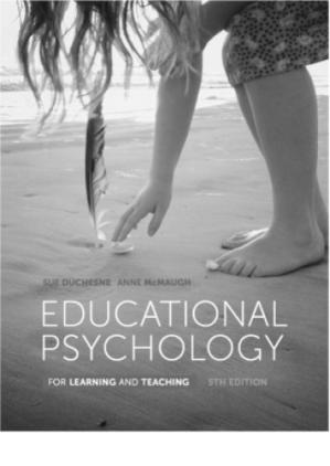 Book cover Educational Psychology for Learning and Teaching