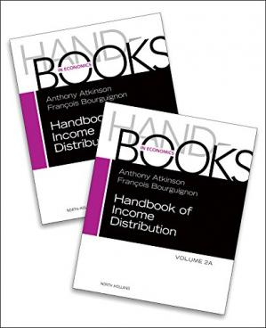 غلاف الكتاب Handbook of Income Distribution SET vols. 2A-2B, Volume 2