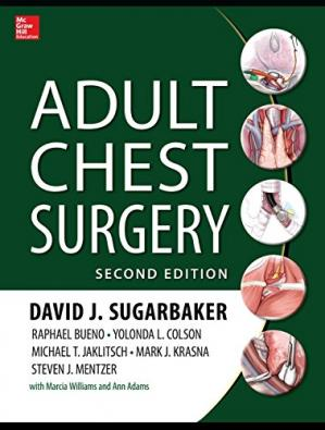 Book cover Adult Chest Surgery
