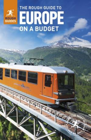 Copertina The rough guide to Europe on a budget